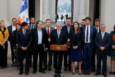 """Piñera ante grupo asesor por COP25: """"La ayuda de ustedes es fundamental"""""""