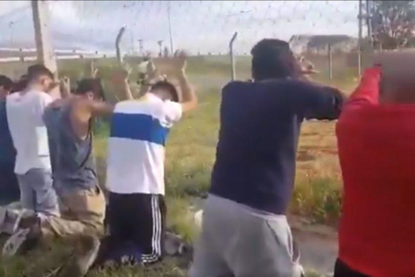 VIDEO | Hinchas de la UC, detenidos en Argentina por robar fernet