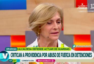La declaración de Evelyn Matthei en el Bienvenidos contra ex carabinero que le valió flor de querella