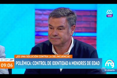 Así fue el duro cruce entre Manuel José Ossandón y Karol Lucero en pleno debate en el Mucho Gusto