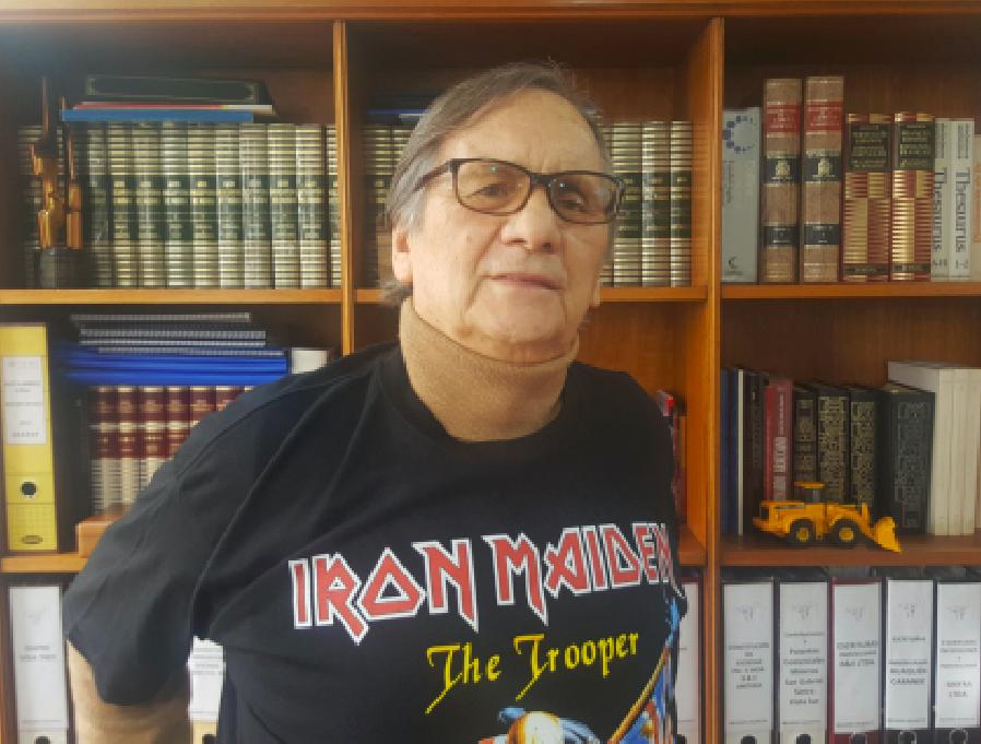 """Belisario Velasco y la fallida visita de Iron Maiden el 92: """"El cardenal Medina era un experto en heavy metal"""""""