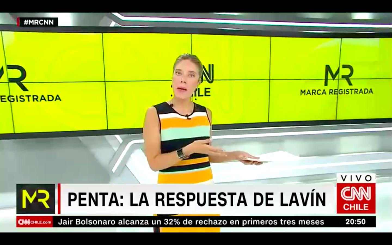 """""""Un par de cosas sobre la carta…"""": Mónica Rincón responde el derecho a réplica que Carlos Lavín envió a CNN Chile"""