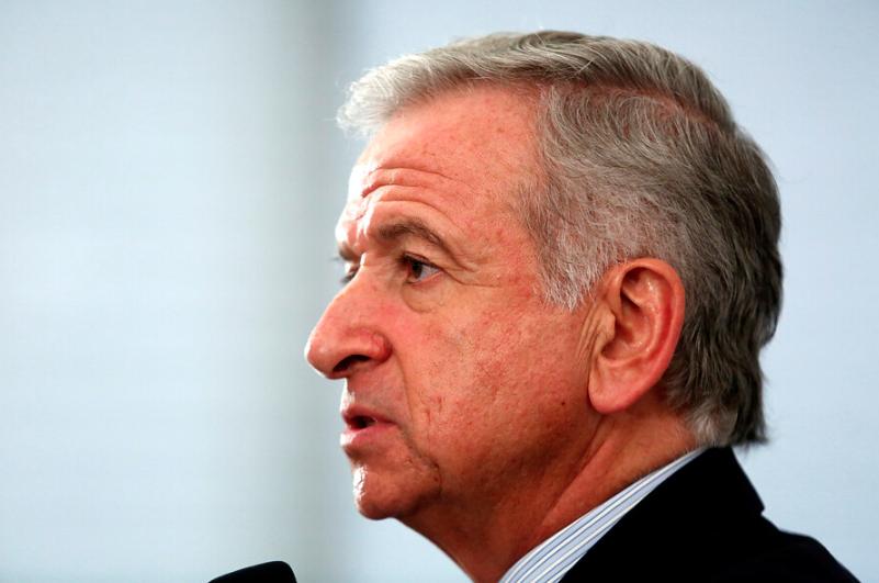 """Ministro Larraín: cambio climático """"es también un problema financiero que debemos enfrentar"""""""