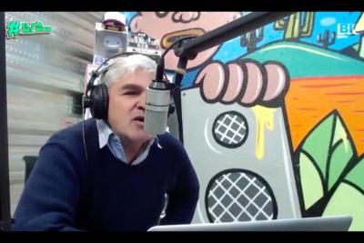 """VIDEO   """"Mira, Juan Pablo Letelier… chuchasumadre"""": Nicolás Larraín se descontrola con el senador en programa radial"""