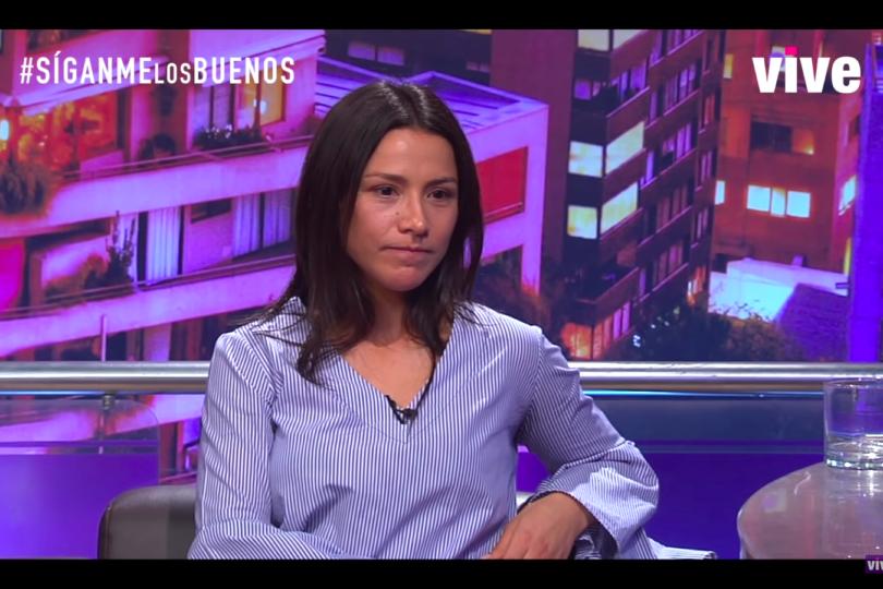 VIDEO | Así respondió Loreto Aravena cuando en plena entrevista de TV le preguntaron si Nicolás López es inocente