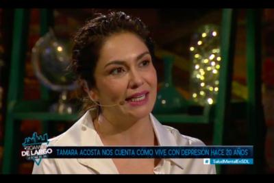Salud mental en Chile: Tamara Acosta confiesa su mayor miedo desde que fue diagnosticada con depresión