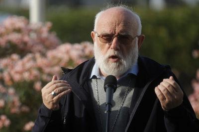 """Celestino Aós: """"No voy expresamente a pedirle al Papa que entregue el informe Schicluna"""""""