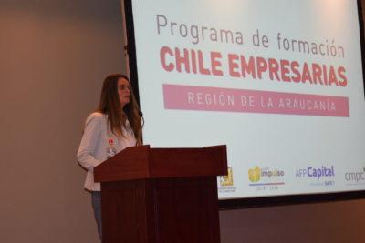 Organización Mujeres Empresarias capacita a emprendedoras rurales de La Araucanía y Biobío