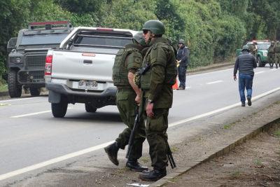 Comunero mapuche herido de bala en procedimiento de Carabineros en Traiguén