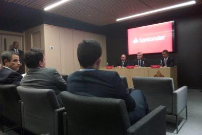 Santander entrega detalles sobre su nueva red de adquirencia y tarjeta de prepago