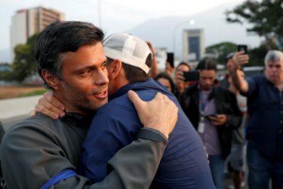Leopoldo López ingresó en calidad de huésped a la embajada de Chile en Venezuela