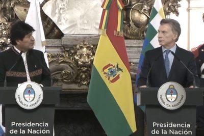 Mauricio Macri ofrece aviones militares a Bolivia a cambio de gas