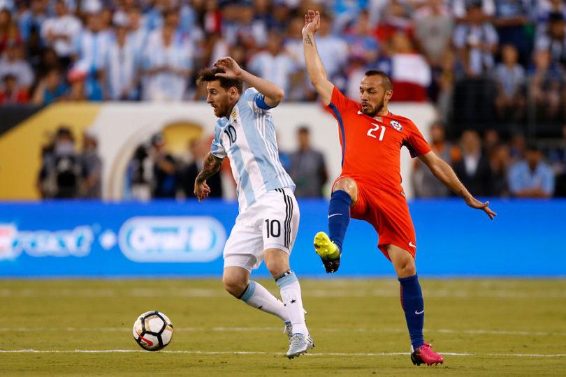 """Marcelo Díaz: """"Con Messi en la Roja, habríamos sido campeones del mundo"""""""