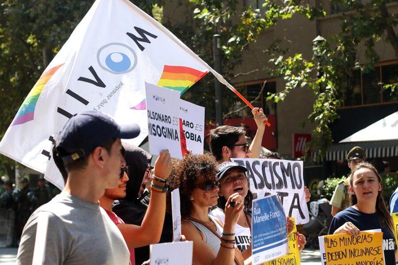 """Movilh denuncia que """"neonazi"""" intenta apropiarse de su marca"""