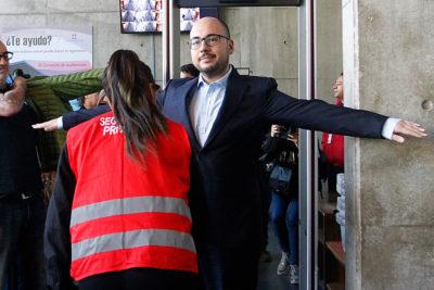 """Nicolás López al llegar a su formalización: """"Vengo a demostrar que soy inocente"""""""