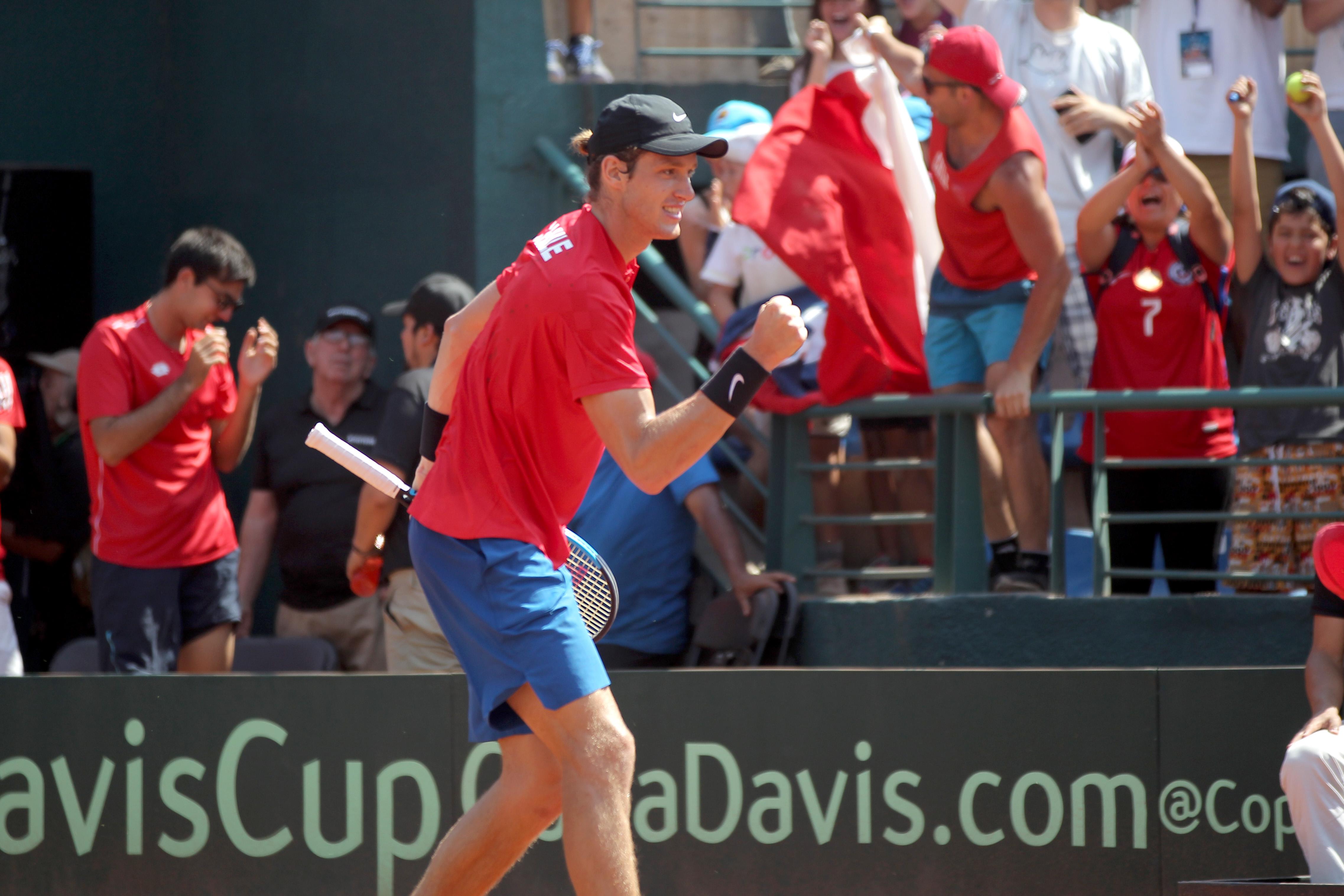 """""""Jarry salvó un match point, derribó al 3 del mundo y logró su mejor triunfo ATP"""""""
