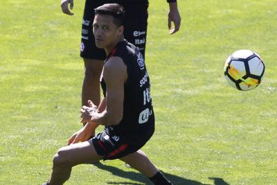 Prepara su regreso: Alexis Sánchez sorprendió y volvió a entrenar con plantel del United