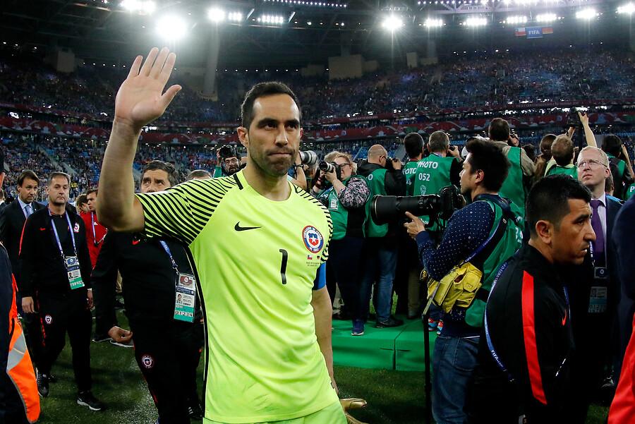 """Médico de la Selección: """"Claudio Bravo está en condiciones de jugar la Copa América"""""""