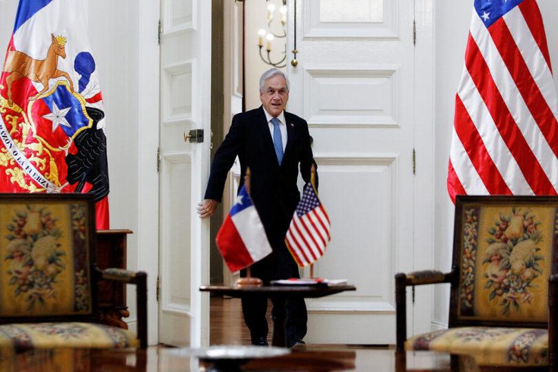 Piñera se reunirá con representantes de Huawei en China