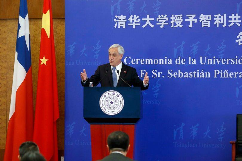 """Piñera sobre el régimen comunista chino: """"Cada uno tiene el sistema político que quiera"""""""