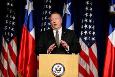 """Mike Pompeo anuncia sanciones económicas contra a Irán: """"Continuaremos hasta que cambien su comportamiento"""""""