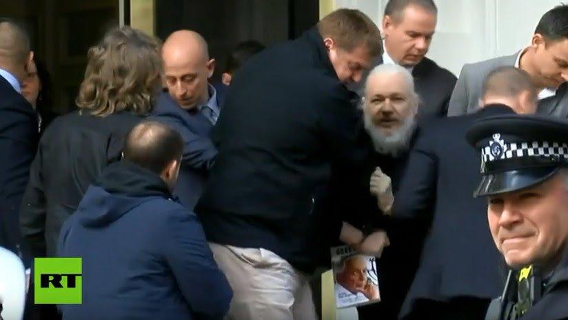 """""""Confirman que detención de Julian Assange fue por solicitud de extradición desde EE.UU. por"""