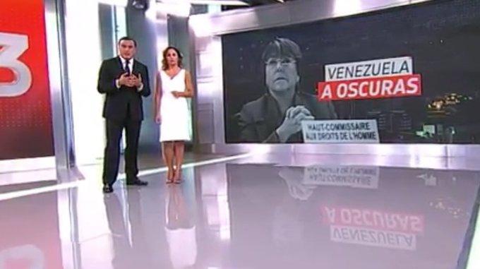 CNTV desestimó denuncias contra T13 por imagen de Bachelet en nota sobre apagón en Venezuela