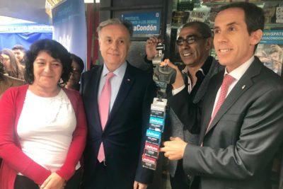 Inició venta de condones en los kioscos de Santiago Centro