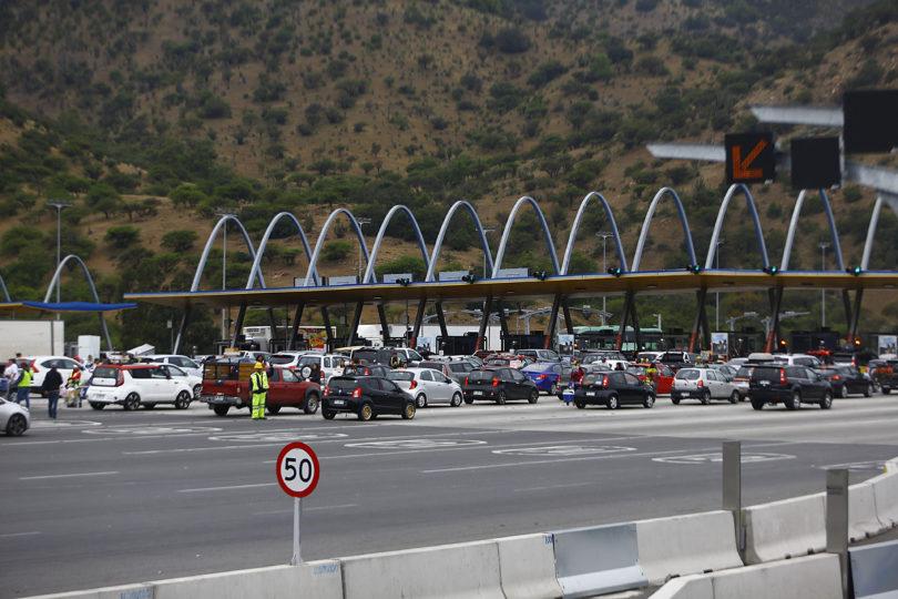 Revisa las medidas del MOP para evitar congestión por fin de semana largo en Santiago