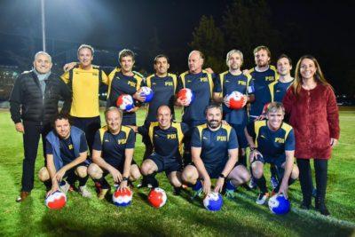 """Ministros y diputados jugaron un partido por la """"Copa de los Acuerdos"""""""