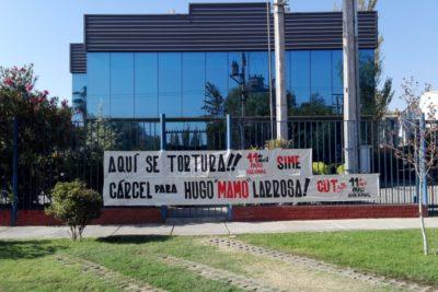 CUT protestó en la fábrica de Hugo Larrosa y presentó una querella criminal por torturas