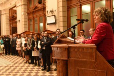 Piñera nombró a Dobra Lusic como ministra de la Corte Suprema