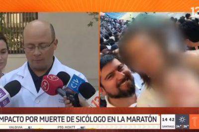 Muerte en Maratón: Hospital del Trabajador reconoce que su desfibrilador llegó 11 minutos después de la alerta