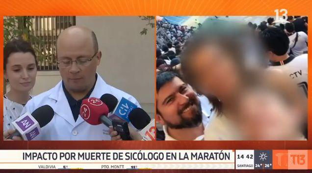 Muerte en Maratón: Hospital del Trabajador reconoce que su desfibrilador llegó 11 minutos después