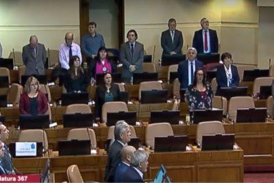 Santibañez y más: los diputados de oposición que se quedaron en el minuto de silencio por Jaime Guzmán
