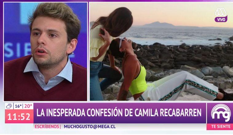 """""""Déjenla ser"""": Joaquín Méndez respaldó a Camila Recabarren tras revelación por su nueva pareja"""