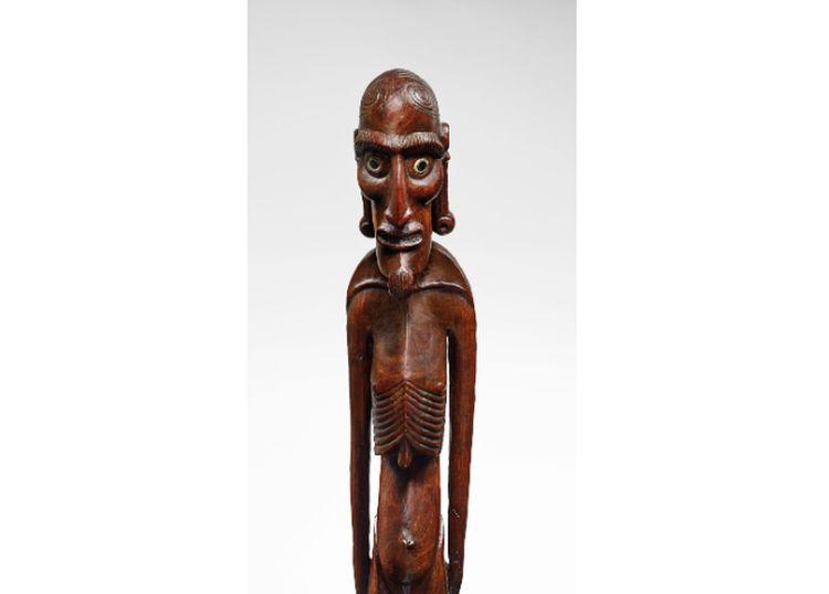 """""""Moai que fue sacado de Rapa Nui en 1868 será subastado por US$ 1 millón en París"""""""