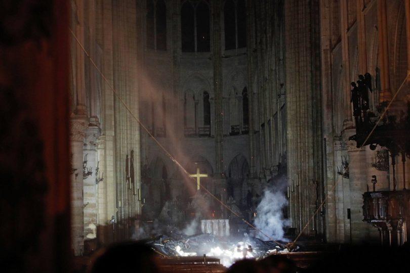 FOTOS | Revelan los primeros registros del interior de Notre Dame después del incendio