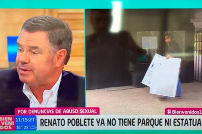 VIDEO |Ossandón vivió tensos minutos en Bienvenidos luego que Polo Ramírez le leyera su defensa a Karadima