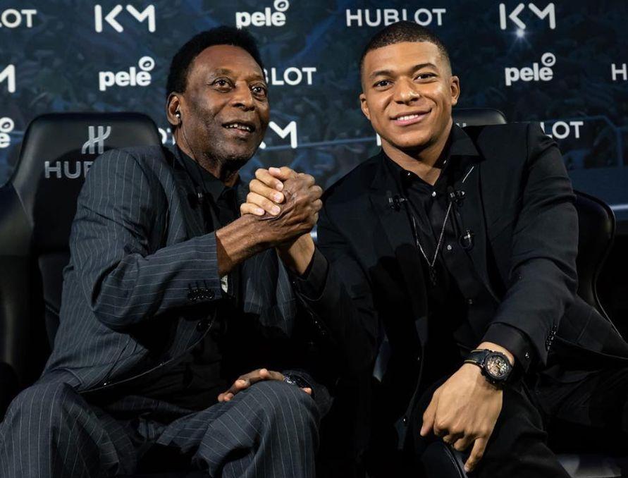 """Pelé fue hospitalizado en París tras participar de un encuentro con Mbappé"""