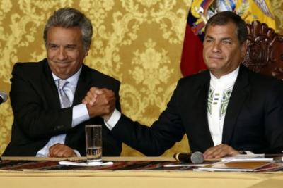 """Rafael Correa a Lenín Moreno tras la detención de Assange: """"Es el traidor más grande de la historia ecuatoriana"""""""