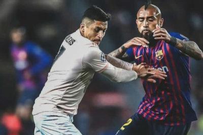 """""""Más de diez años enfrentándonos…"""": tierna dedicatoria de Vidal a Alexis tras el triunfo del Barcelona"""