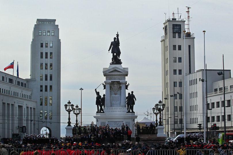 "Armada denunció ""cobarde ataque"" al Monumento a los Héroes de Iquique"