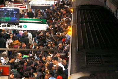 Hora punta: Metro suspende temporalmente Línea 1 por persona en la vía