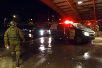 Nuevo ataque a tiros a cuartel de Carabineros en Ercilla