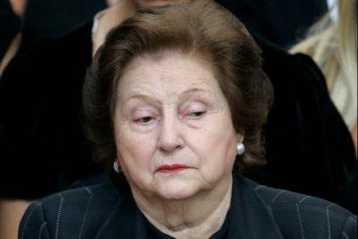 Anuncian homenaje para viuda de Pinochet, Lucía Hiriart