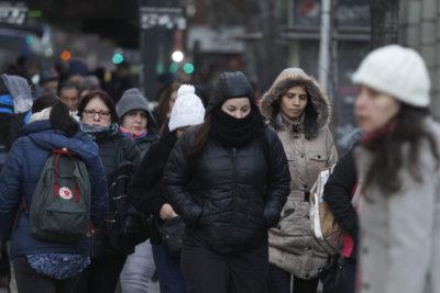 La mañana más fría del año en la Región Metropolitana: -1,7° C en Talagante