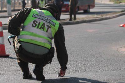 Chofer se dio a la fuga tras protagonizar accidente que dejó a una menor fallecida