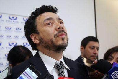 Ministerio Público formalizará al suspendido fiscal de O'Higgins Emiliano Arias