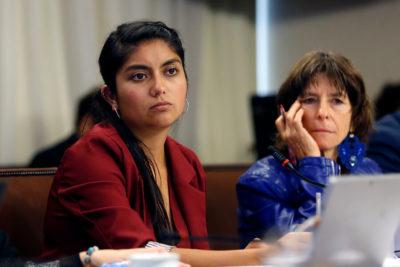 Diputada Rojas denunció correo masivo del Mineduc a favor de Admisión Justa